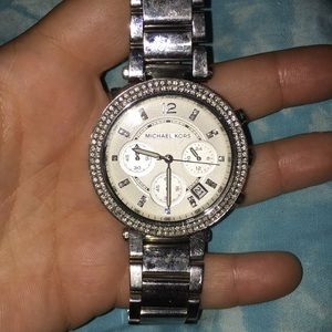 Gently worn Michael Kors watch
